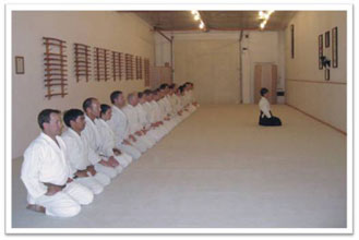 Students Kneeling